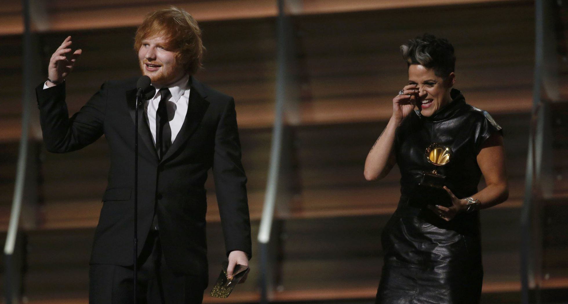 Ed - Ganadores de Grammys 2016