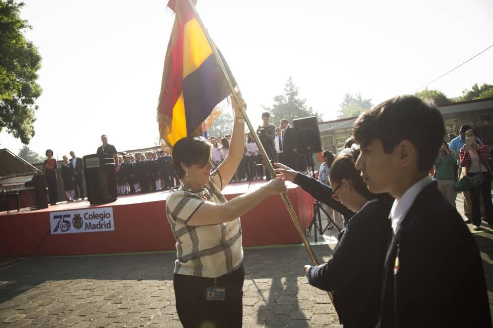 85° aniversario de la Segunda República, en el Colegio Madrid.