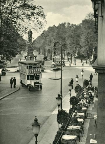 Imagen de Berlín en los años 20.