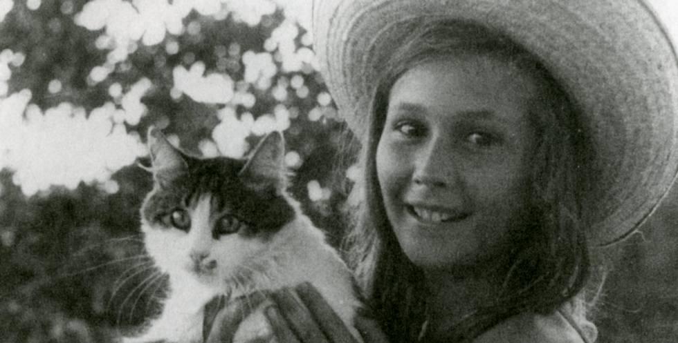 Angelika Schrobsdorff de adolescente en Bulgaria.