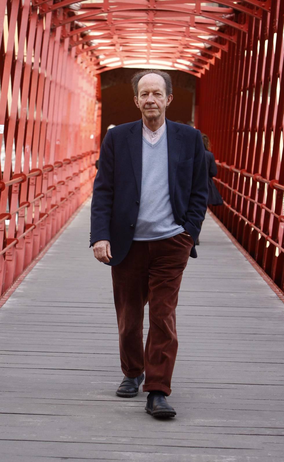 O filósofo italiano Giorgio Agamben fotografado na Espanha em 2014.
