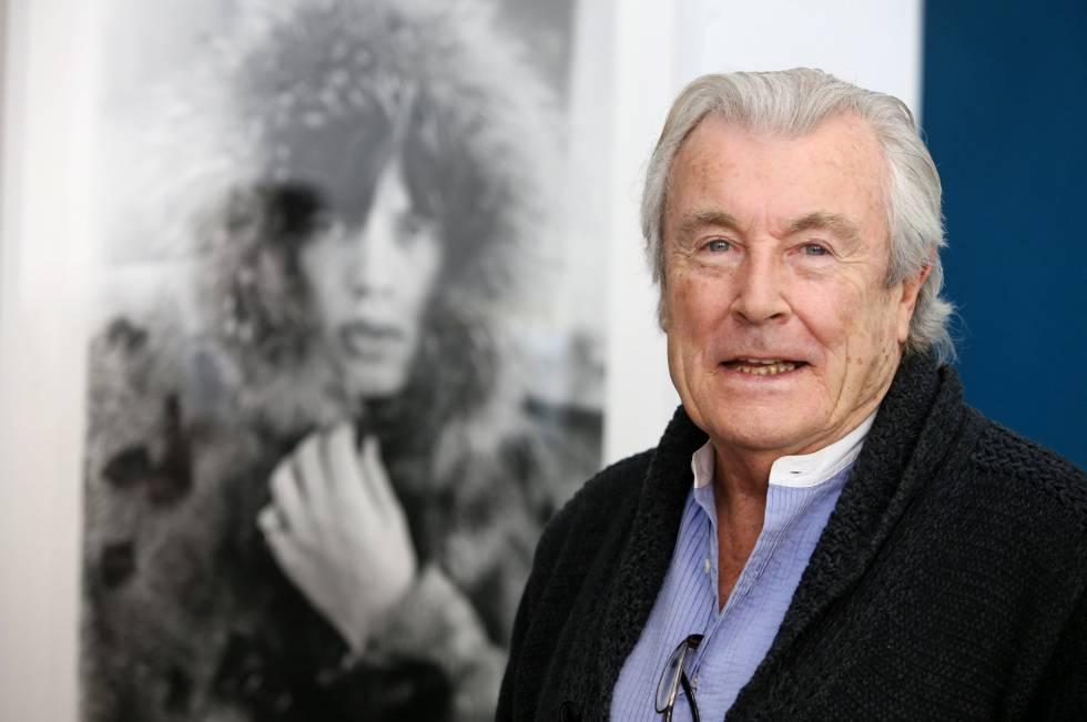 Terry O'Neill, fotógrafo de los Rolling Stones, en Madrid.