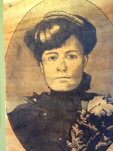 La profesora Elisa Griensen Zambrano.