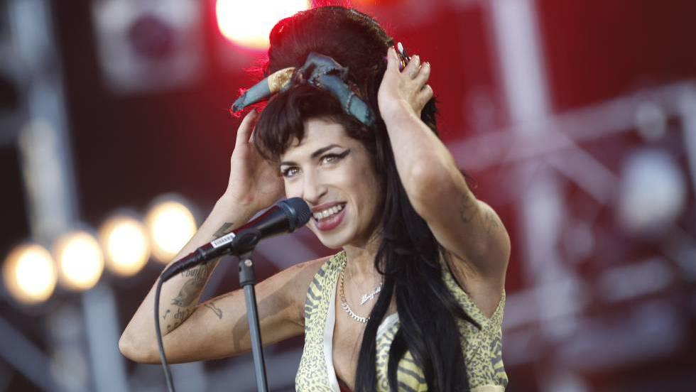 Show de Amy Winehouse no Rock in Rio de Madri em 2008.