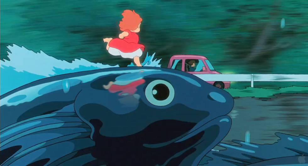 Otra de las maravillas animadas de Hayao Miyazaki: 'Ponyo en el acantilado'