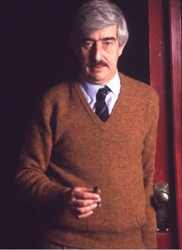 El autor madrileño Juan Benet.