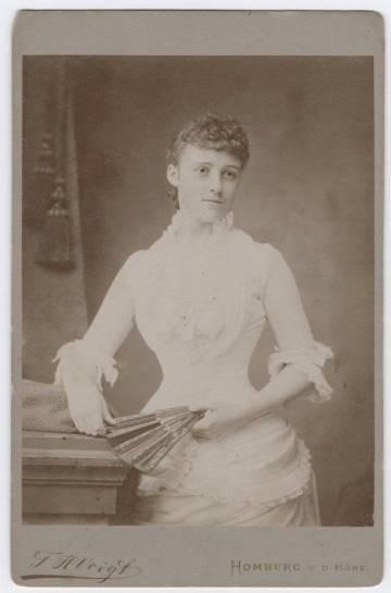 Un retrato de Edith Wharton en 1905.