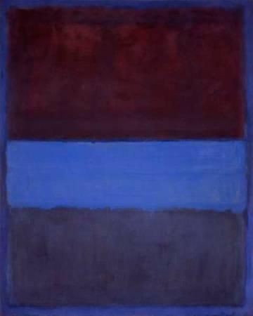 'No. 61 (Óxido y azul)', de 1953.