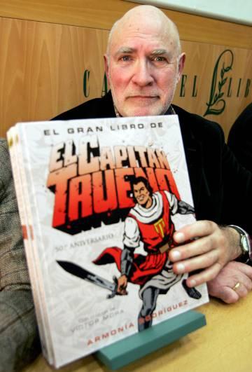 Victor Mora, creador del Capitán Trueno