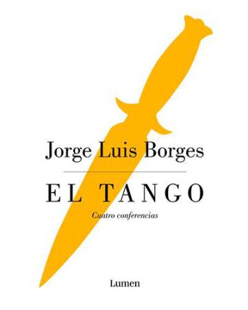 Portada del libro inédito de Borges.