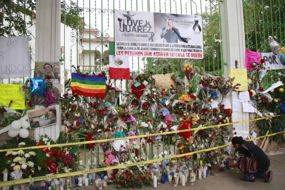Las cenizas de Juan Gabriel se quedarán en Ciudad Juárez