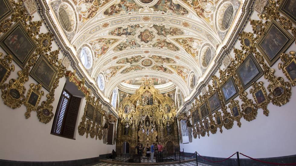 La capilla doméstica de San Luis de los Franceses.