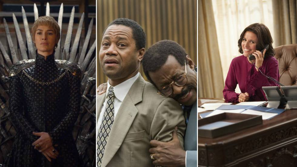 'Game of Thrones', 'The People Vs. O.J. Simpson' e 'Veep'.