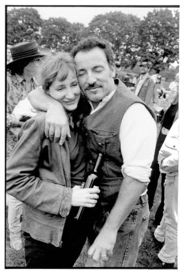 El cantante, con su esposa Patti Scialfa en una imagen sin datar.