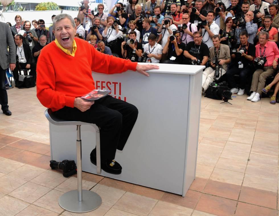 Jerry Lewis durante la presentación en Cannes de 'Max Rose'.