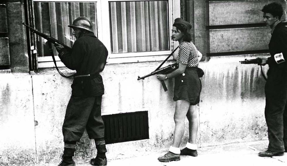 Image result for now it can be told the French resistance
