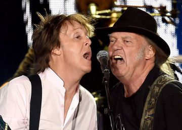 Neil Young y Paul McCartney homenajean a Lennon