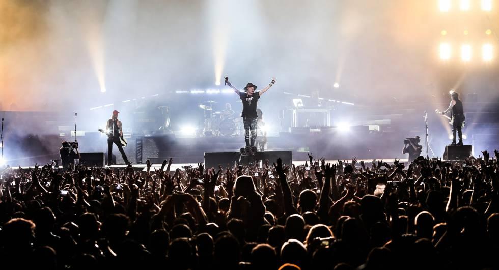 Conciertos En España: Guns N'Roses Actuará En Bilbao