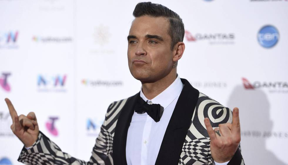 Robbie Williams actuará este jueves en Los 40 Music Awards en Barcelona.