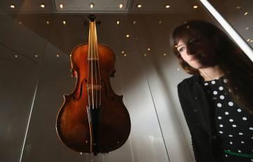 El 'Cipriani Potter', un violín hecho por Antonio Stradivari en 1683.