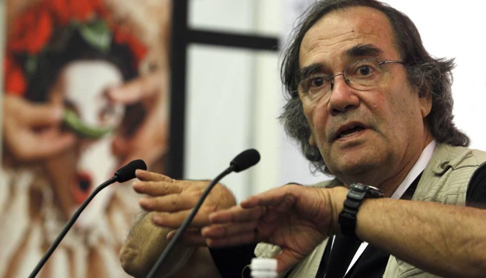 El director argentino Eliseo Subiela en 2012.
