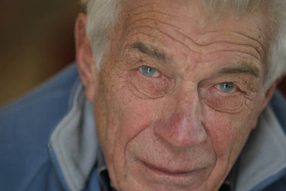 John Berger, en Madrid, en 2010.