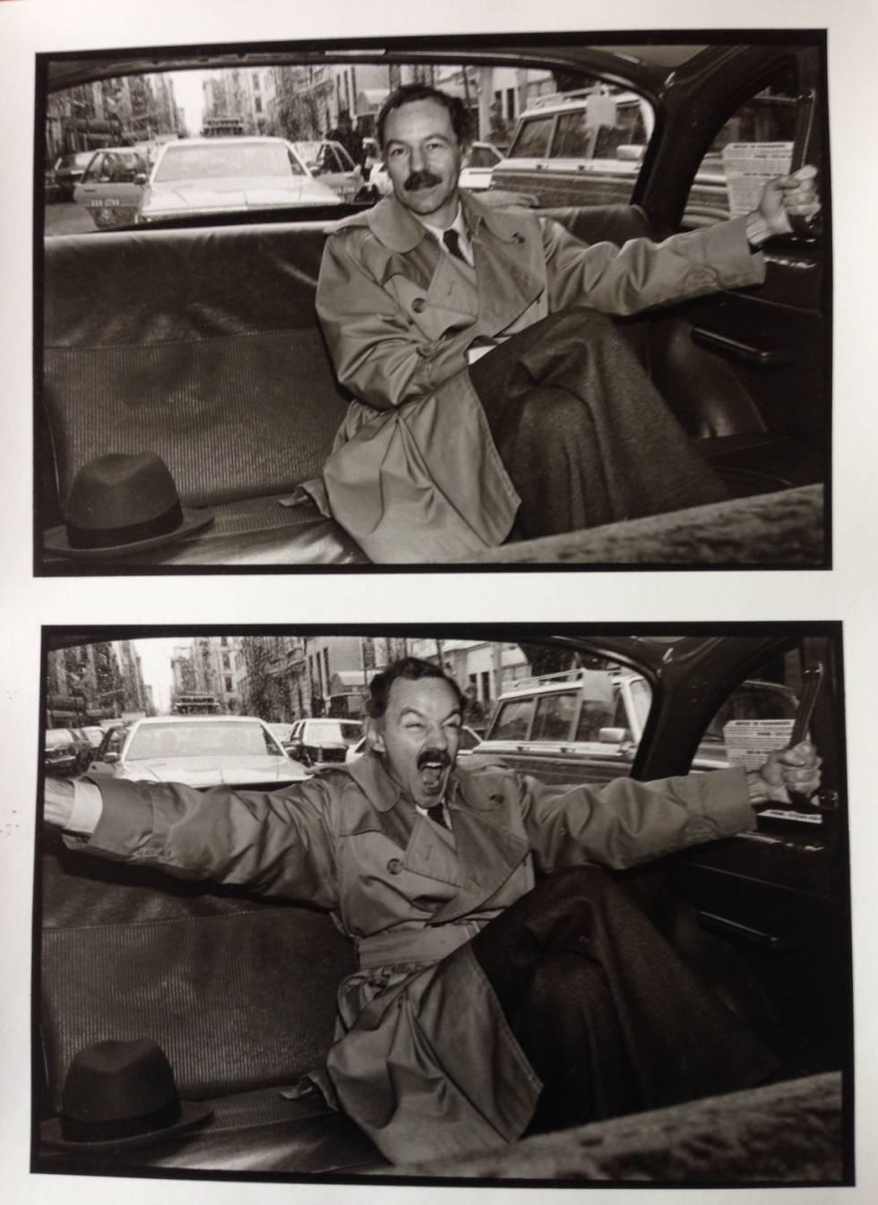Eduardo Mendoza, en Nueva York en los años ochenta.