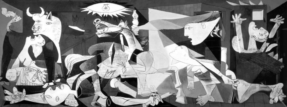 ¿Se inspiró el Guernica en una pintura de guerra del siglo XVI?