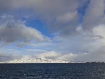 Islandia desde el mar