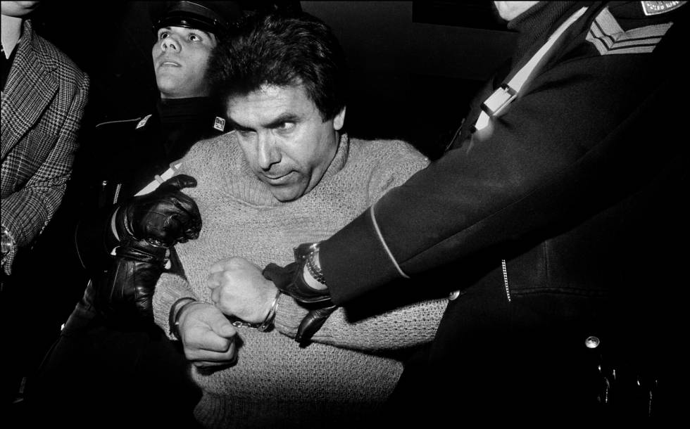 Prisão do chefe mafioso Leoluca Bagarella (1980)
