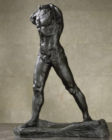 'El hombre que camina', de Auguste Rodin.