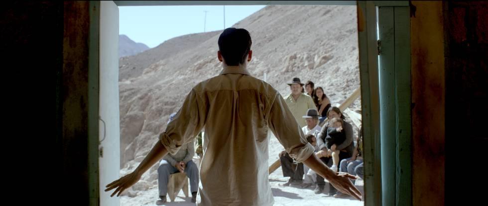 Escena de 'El Cristo ciego'.