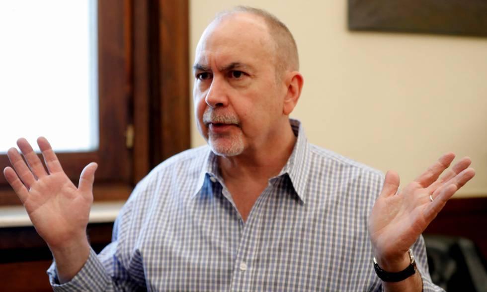 Terence Winter, guionista de 'Los Soprano', en Madrid.