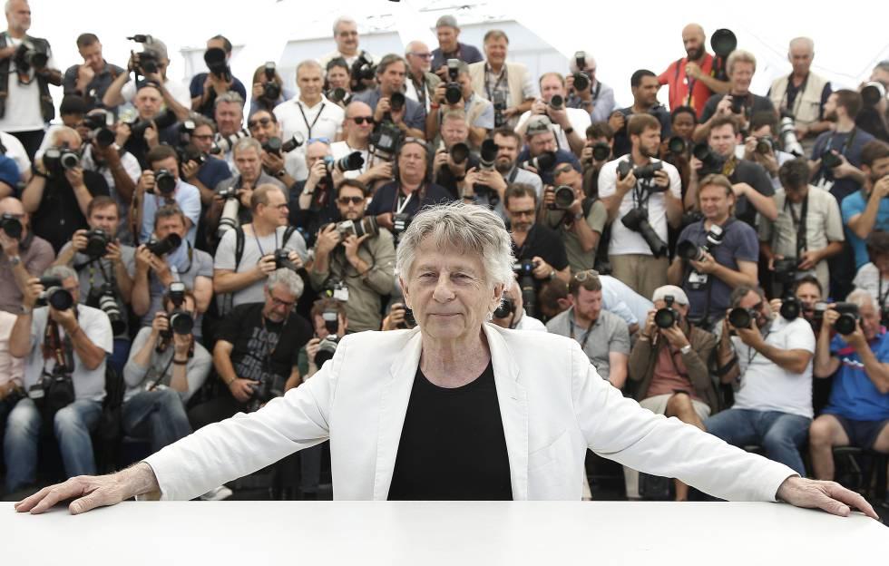 El director de cine Roman Polanski, en la última edición de Cannes, en la presentación de 'D'après une histoire vraie'.