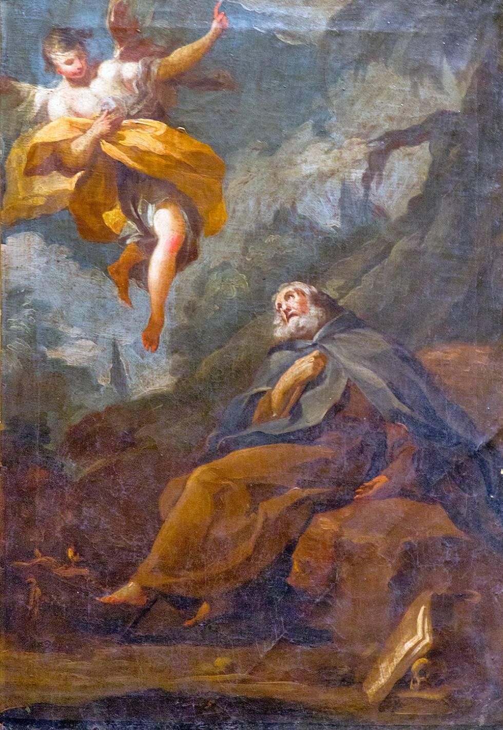 'El éxtasis de San Antonio Abad'.