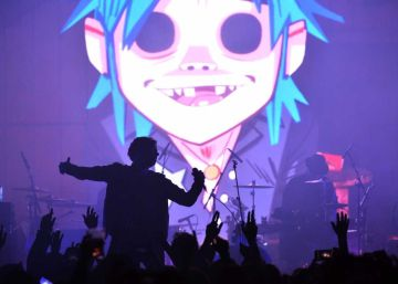 Sigue en 'streaming' a Gorillaz en el festival Demon Dayz