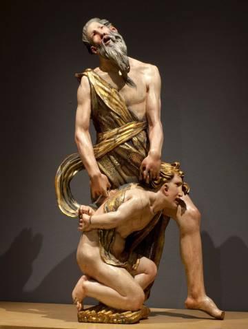 'Sacrificio de Isaac', de Alonso Berruguete.