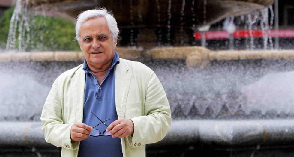 Juan Cruz, en una visita a Bilbao el mes pasado.