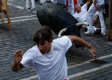 Three injuries at first Running of the Bulls
