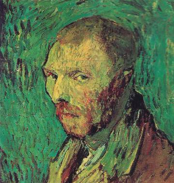 Autorretrato de Vincent Van Gogh (1889).