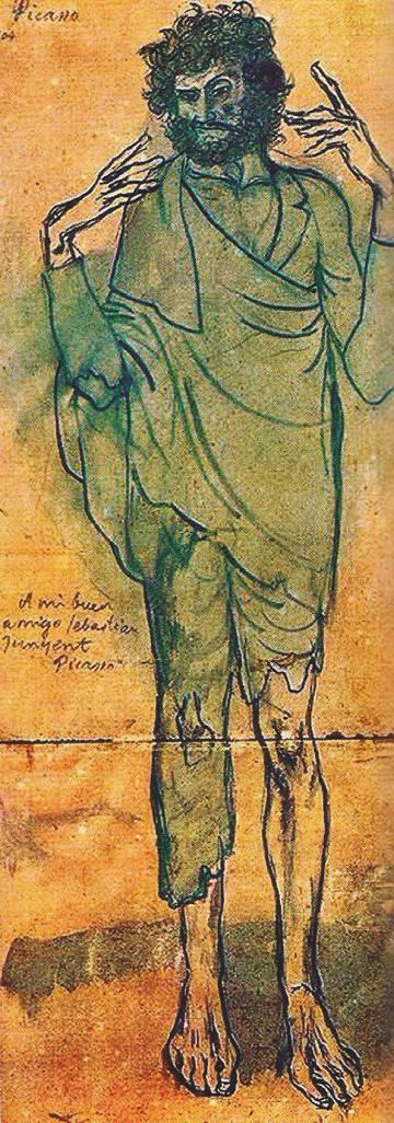 'El loco de Picasso' (1904).