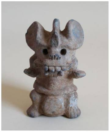 Figura clasificada como zapoteca por el Museo Mexicano de San Francisco.