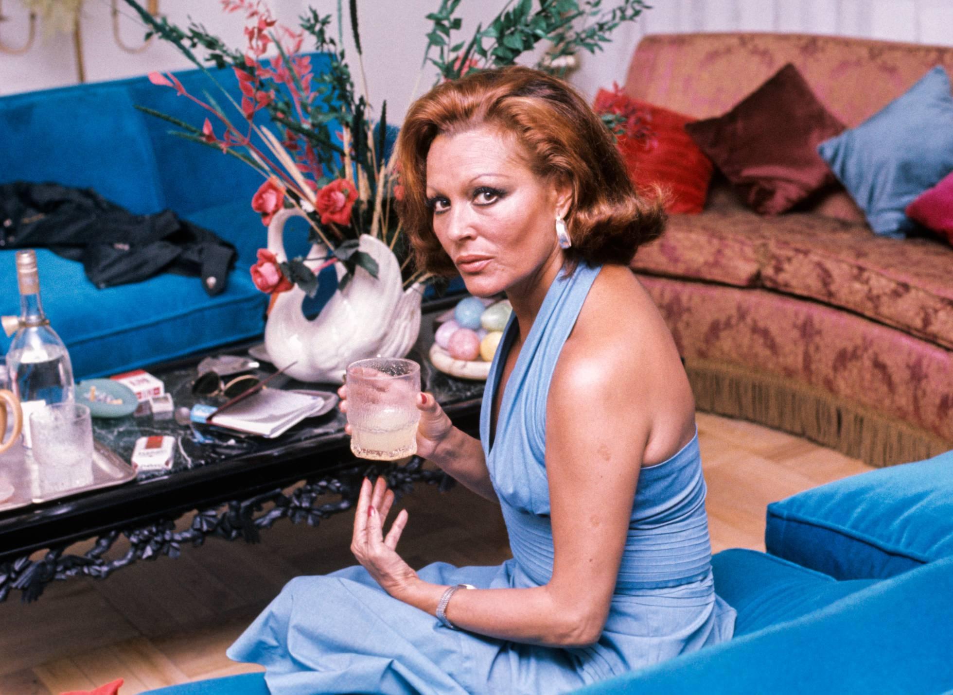 La actriz y cantante Paquita Rico en 1981.