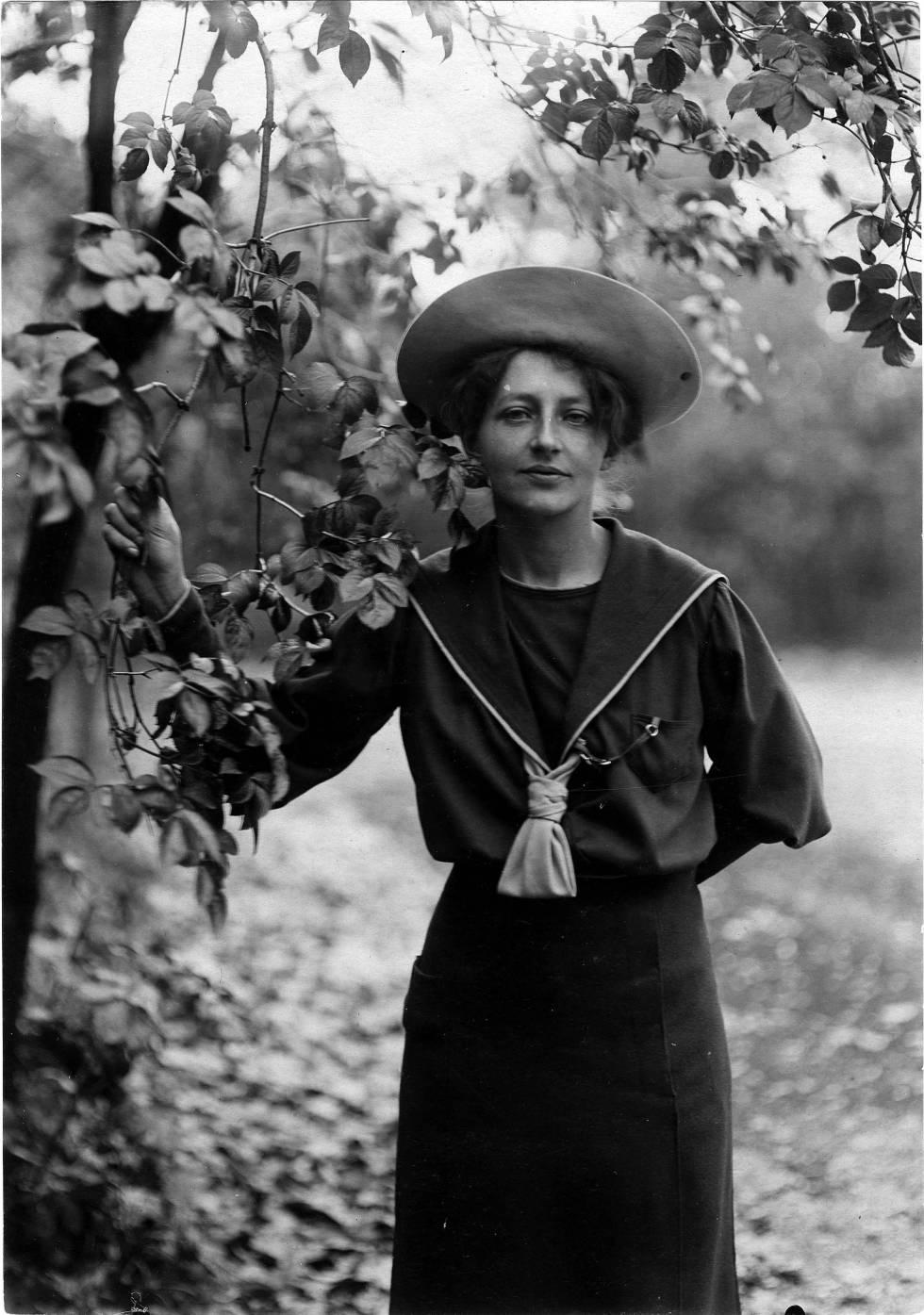 La autora Franziska Von Reventlow.