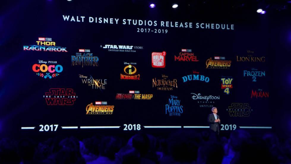 Disney desvela parte de sus secretos para los próximos años