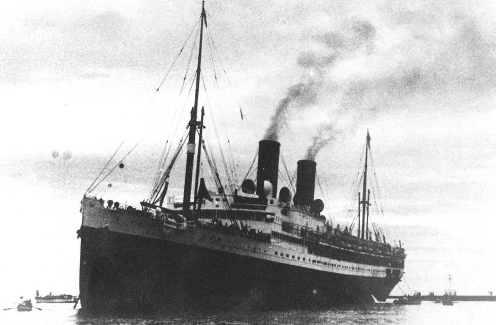El 'Sinaia', barco que, como el 'Cuba', llevó exiliados españoles a México.