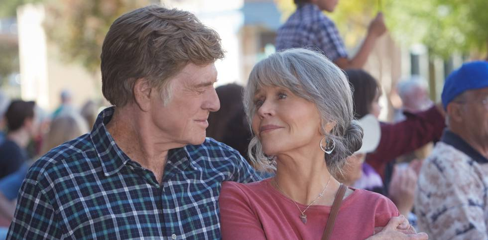 Robert Redford y Jane Fonda, en un fotograma de 'Our Souls at Night'.