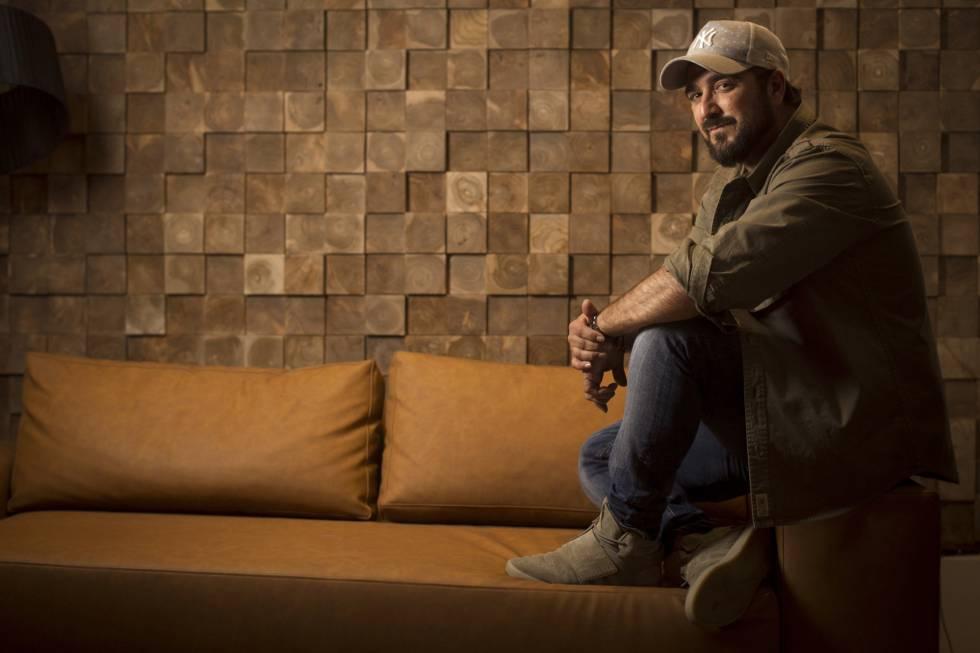 Antonio Orozco, en un hotel de Madrid, el pasado mes de junio.