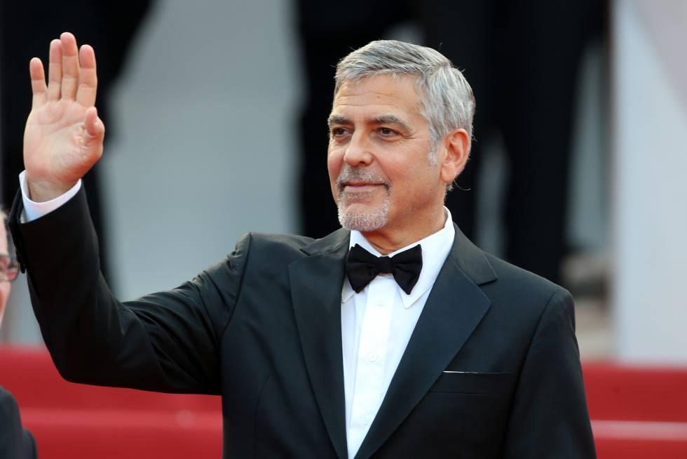 George Clooney, en la última edición del Festival de Cannes, en mayo de 2016.