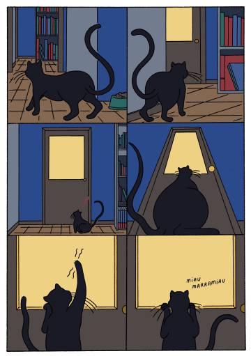 Página del cómic 'Gran bola de helado', de Conxita Herrero.
